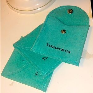 Tiffany & Co. Small Suede Jewelry Bag